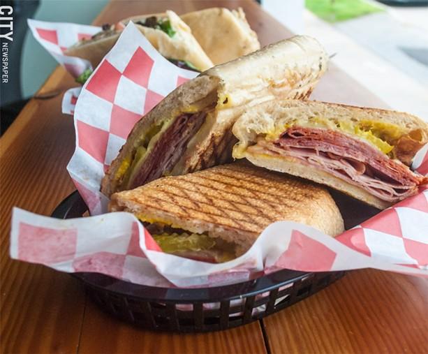 TinRoof's Cubano sandwich. - PHOTO BY JACOB WALSH
