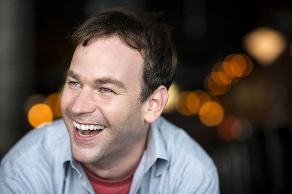 Comedian Mike Birbiglia will headline the 2019 Rochester Fringe Festival. - PHOTO BY EVAN SUNG