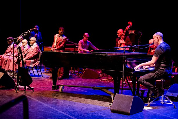 Marc Cohn and Blind Boys of Alabama gave a phenomenal collaborative performance on Tuesday, June 25 at Eastman Theatre's Kodak Hall. - PHOTO BY JOSH SAUNDERS