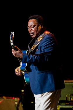 Guitarist George Benson delivered the hits at Kodak Hall on Thursday, June 27, as part of the 2019 CGI Rochester International Jazz Festival. - PHOTO BY JOSH SAUNDERS
