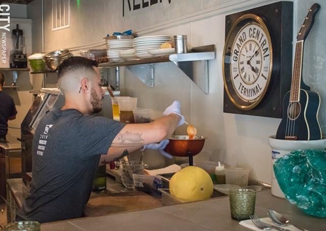 Chef Cruz Nieves. - PHOTO BY JACOB WALSH