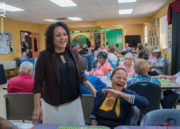 One of Ibero's offerings is activities for seniors, says Perez-Delgado. - PHOTO BY RYAN WILLIAMSON