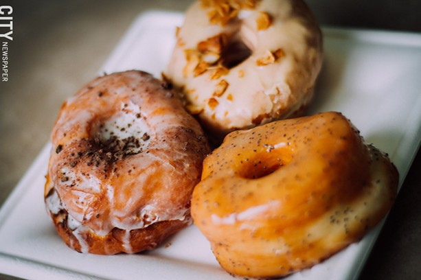 All-vegan bakery Misfit Doughnuts and Treats has reopened at a larger space in the South Wedge. - FILE PHOTO