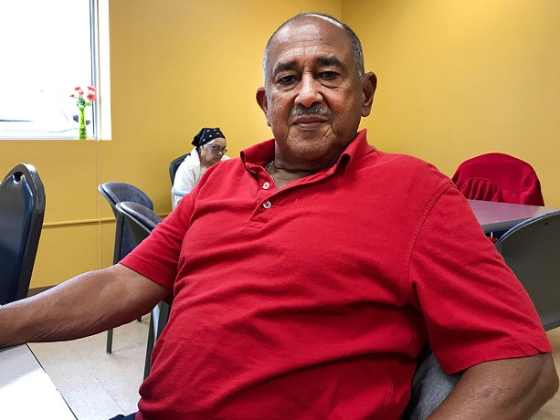 José Nieves Ortíz has had help from family members who also live here. - PHOTO BY NOELLE E.C. EVANS, WXXI NEWS