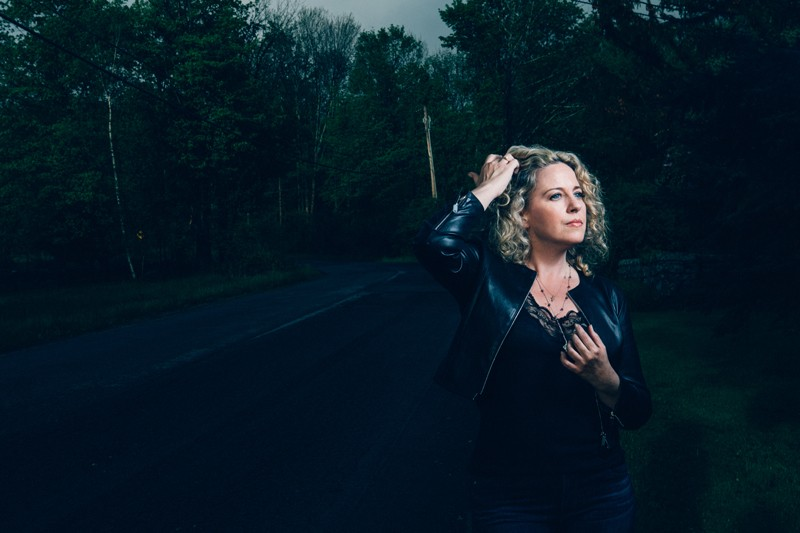Singer-songwriter Amy Helm may be the late Levon Helm's daughter, but her roots-based music is her own. She'll play Three Heads Brewing on Thursday, October 10. - PHOTO BY EBRU YILDIZ