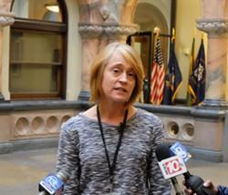City Historian Christine Ridarsky. - PHOTO BY RANDY GORBMAN, WXXI NEWS