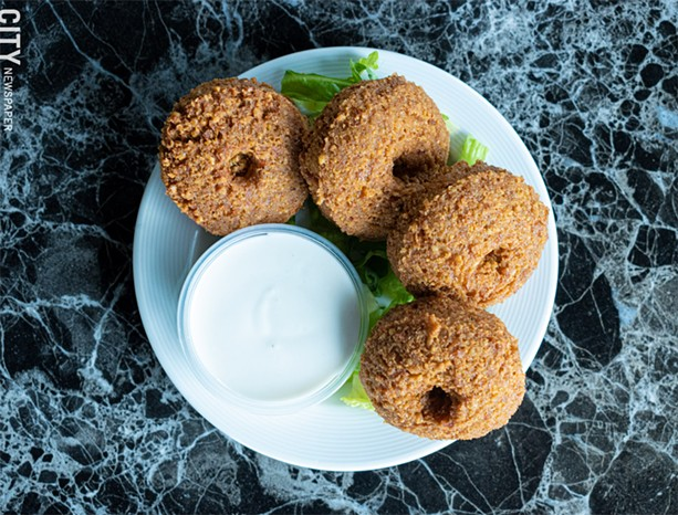 Crispy fried and spiced chickpea patties, known as falafel. - PHOTO BY JACOB WALSH