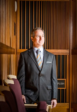 Jamal Rossi, Eastman School of Music dean, defended his decision not to cancel the Philharmonia's China tour in letters to the school community last week. - FILE PHOTO