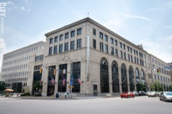 The former home of the Democrat and Chronicle, and the longtime headquarters of its parent company, Gannett Co., on Exchange Boulevard in Rochester. - FILE PHOTO