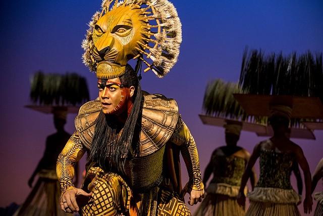 Gerald Ramsey as Mufasa. - COPYRIGHT DISNEY / PHOTO BY MATTHEW MURPHY