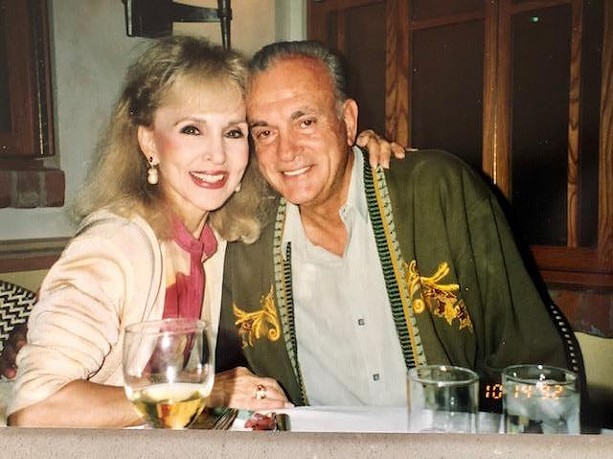 """Daphne Padula (formerly Daphne Dore) and her husband, Louis Padula, before their deaths in 2004. The couple had been married since 1951 and died together when they were struck by a pickup truck while crossing the street. Daphne was the original """"Jenny Girl"""" of the Genesee Brewery's iconic ad campaign. - PHOTO PROVIDED BY LISA PHILLIPS VISCA"""