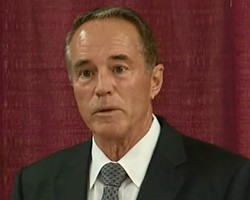 Former GOP House Rep. Chris Collins - PHOTO BY WXXI NEWS