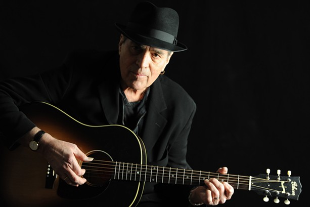 Singer-songwriter Eric Andersen is a kind of folk music prophet, whose music has been performed by Bob Dylan, Johnny Cash, Linda Ronstadt, and Pete Seeger. - PHOTO BY PAOLO BRILLO