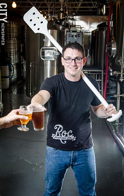 Chris Spinelli, founder of Roc Brewing Company - FILE PHOTO