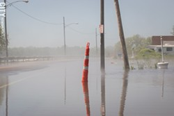 Last year's Lake Ontario flooding was linked to climate change. - FILE PHOTO