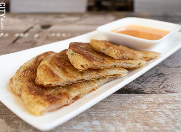 Scallion pancakes. - PHOTO BY JACOB WALSH