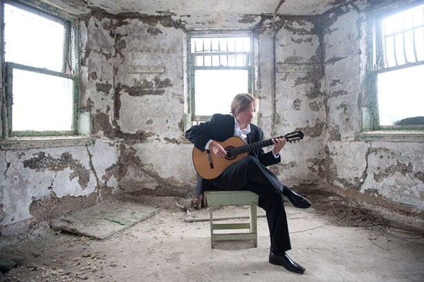 Jason Vieaux was once an aspiring student taking lessons at Hochstein School of Music. He returns on March 21 to perform there as one of the preeminent classical guitarists working today. - PHOTO BY TYLER BOYE