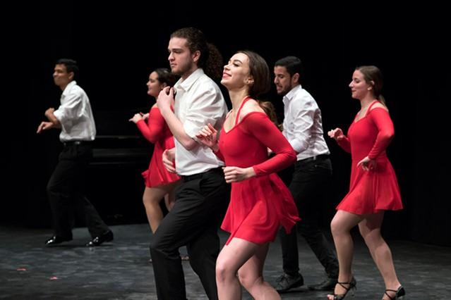 Latin Rhythm Dance Crew. - PHOTO BY SUE WEISLER