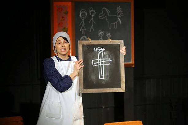 """Hummingbird Theater Co. presented """"The Amish Project"""" at The MuCCC in the fall of 2019. - PHOTO BY ANNETTE DRAGON"""