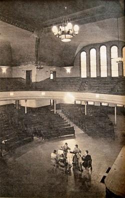 Hochstein Performance Hall, circa late-80s, early-90s. - COURTESY OF THE HOCHSTEIN SCHOOL