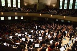 A concert at Hochstein Performance Hall, present-day. - COURTESY OF THE HOCHSTEIN SCHOOL