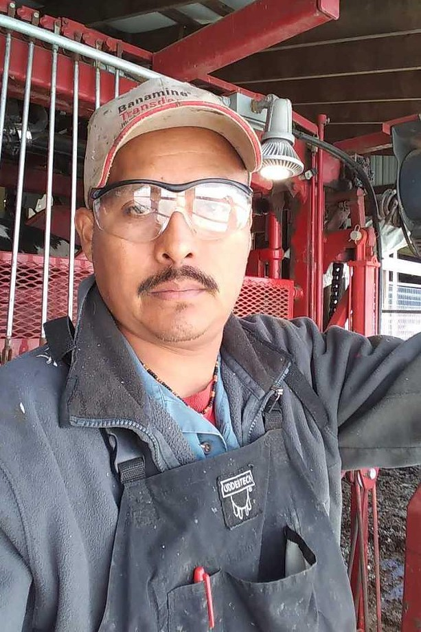 Victor Cortez is a migrant farmworker on a Wyoming County dairy farm. - PHOTO PROVIDED BY VICTOR CORTEZ