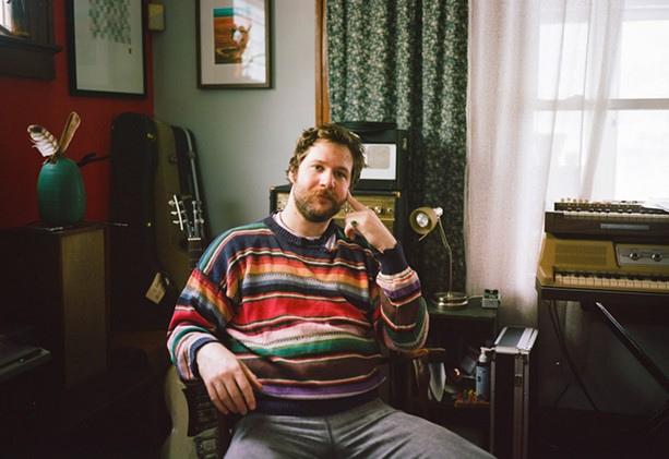 With six years of sobriety under his belt, Rochester musician Benton Sillick is a clear-eyed realist. - PHOTO BY TEAGAN WEST