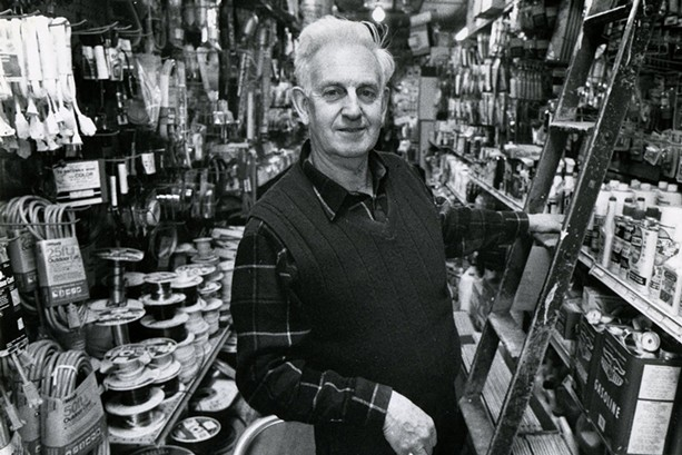 Don Ross, son in-law of Wilson Hardware co-founder William Wilson, owned and operated the store for 44 years ending in 1986. That's when Ross's daughter, Sue Aurand, took over the business. - PHOTO PROVIDED