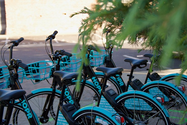 Miami-based HOPR will be setting up bike share services in some Monroe County suburbs. - PHOTO PROVIDED