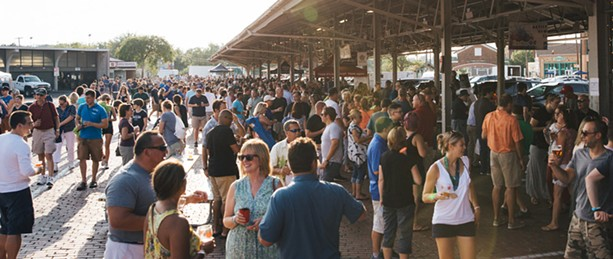 The Flour City Brewer's Fest draws a crowd of beer lovers to the Rochester Public Market. - PHOTO PROVIDED
