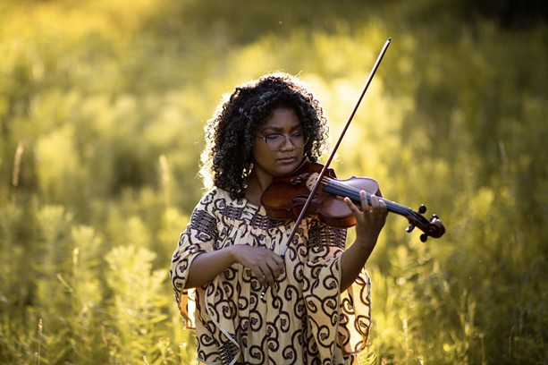 """Epongue Ekille curated the playlist """"Black Classical Music Essentials"""" to bring more awareness to composers and performers of color. - SHERIDAN PAIGE PHOTOGRAPHY"""