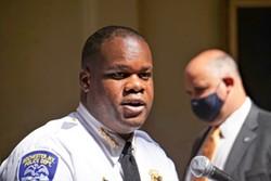 RPD Chief La'Ron Singletary. - PHOTO BY GINO FANELLI