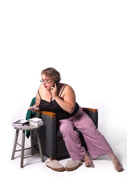 "Cameryn Moore brings her one-woman play ""Phone Whore"" to the Rochester Fringe Festival on September 18 and 25. - PHOTO PROVIDED"