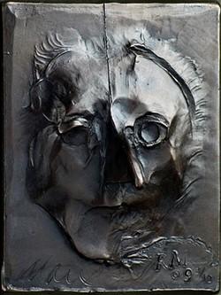"""An Eye for an Eye Makes the Whole World Blind,"" bronze, 2009. - ARTWORK PROVIDED"