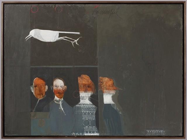 """""""Be Careful,"""" oil on linen, 2011. - ARTWORK PROVIDED"""