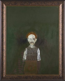 """""""Ghost of Fearful Dreams,"""" oil on linen, 2013. - ARTWORK PROVIDED"""