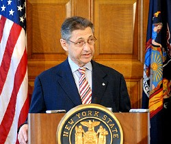 Former State Assembly Leader Sheldon Silver. - FILE PHOTO