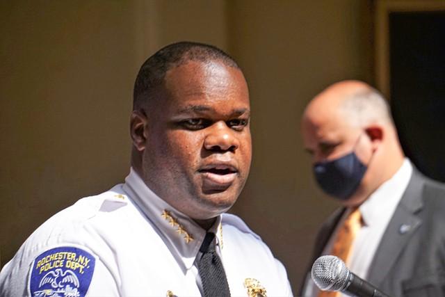 Former Rochester Police Chief La'Ron Singletary. - PHOTO BY GINO FANELLI