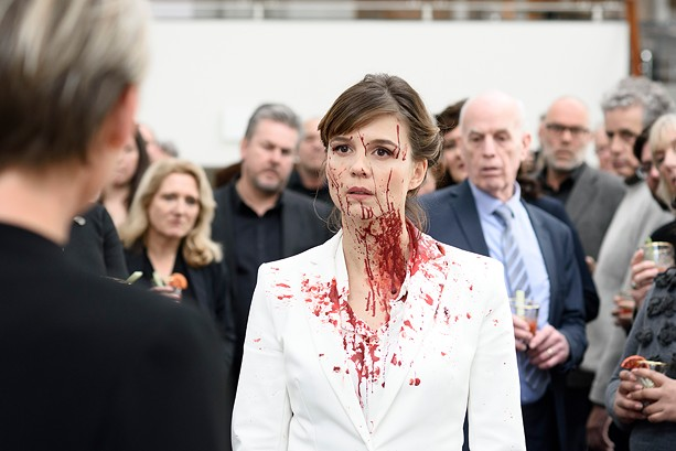 "Katja Herbers stars in the dark comedy ""The Columnist."" - PHOTO BY PIEF WEYMAN"