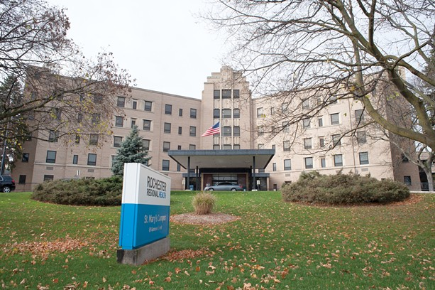 Rochester Regional Health's St. Mary's Campus is an anchor at Bull's Head. - PHOTO BY JEREMY MOULE