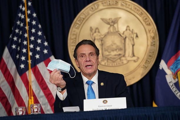 Gov. Andrew Cuomo at his daily news briefing on Nov. 30, 2020. - PHOTO PROVIDED BY THE OFFICE OF THE GOVERNOR