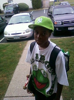 A portion of the Roc City Skatepark will be named after Akeer Matthews, who died in 2010 while skateboarding in Irondequoit. He was 14. - PROVIDED PHOTO