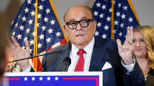 Rudy Giuliani. - PHOTO BY JAQUELYN MARTIN