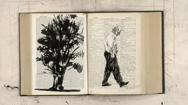 "A still from ""William Kentridge: Second-hand Reading."" - PHOTO COURTESY EASTMAN MUSEUM"