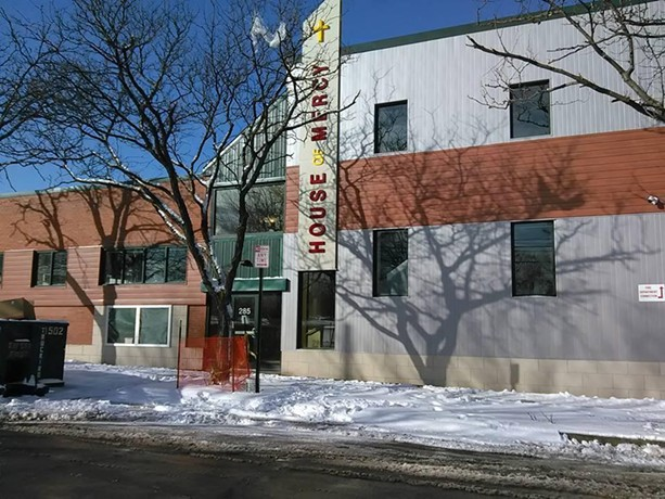Earlier this winter, COVID-19 forced the House of Mercy to close its Ormond Street shelter for the homeless - PHOTO PROVIDED BY HOUSE OF MERCY