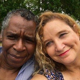 Miché and his wife Wendy. - PHOTO PROVIDED