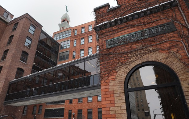 The Aqueduct Building will be part of a remote work hub in Rochester. - PHOTO BY MAX SCHULTE