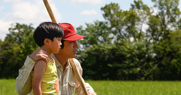 "Alan Kim and Steven Yeun in ""Minari."" - PHOTO COURTESY A24"