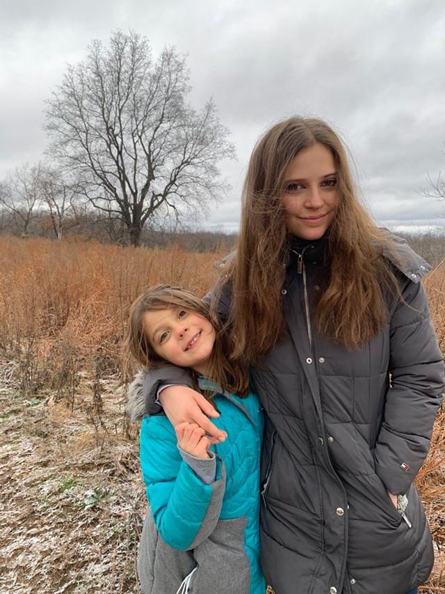 Ana Dobrot (r) and her sister, Nicoleta. - PHOTO PROVIDED