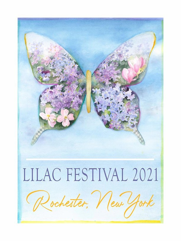 Official poster for the 2021 Lilac Festival. - PROVIDED